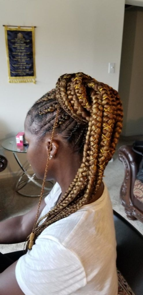 Pinblack Hair Information – Coils Media Ltd On Braids And Twists For Reverse French Braids Ponytail Hairstyles With Chocolate Coils (View 4 of 25)