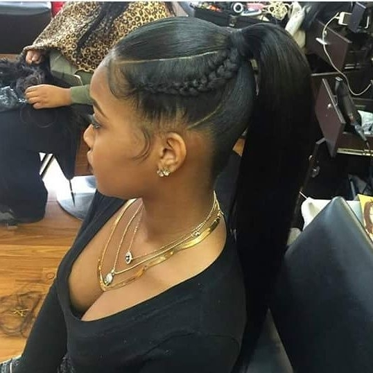 Pinblack Hair Information – Coils Media Ltd On Weaves Wigs In Weave Ponytail Hairstyles (View 15 of 25)
