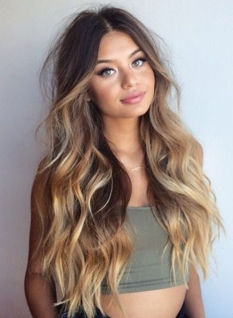 Pindeborah Praha?makeup Ideas, Skincare Tips & Street Style On Throughout Ponytail Hairstyles With Wild Wavy Ombre (View 12 of 25)