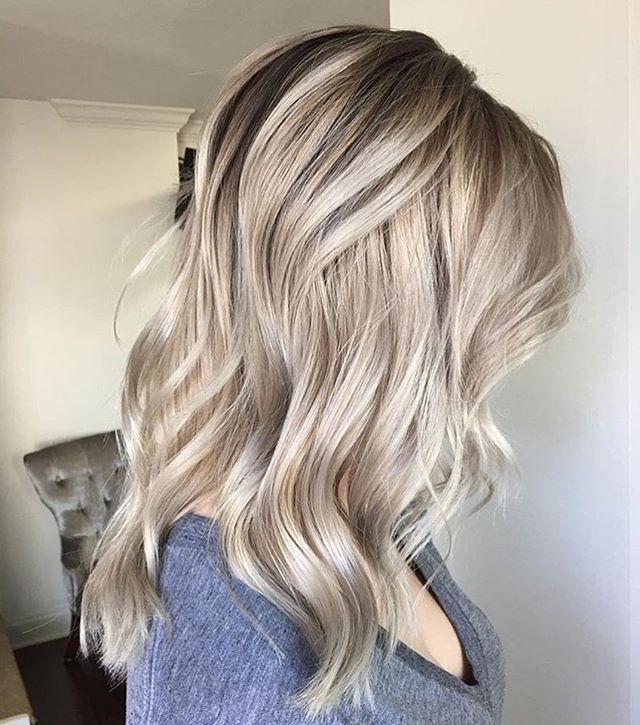 Pinkarolina On ? Hair ? | Pinterest | Pearl Blonde, Blondes Inside Pearl Blonde Bouncy Waves Hairstyles (View 17 of 25)