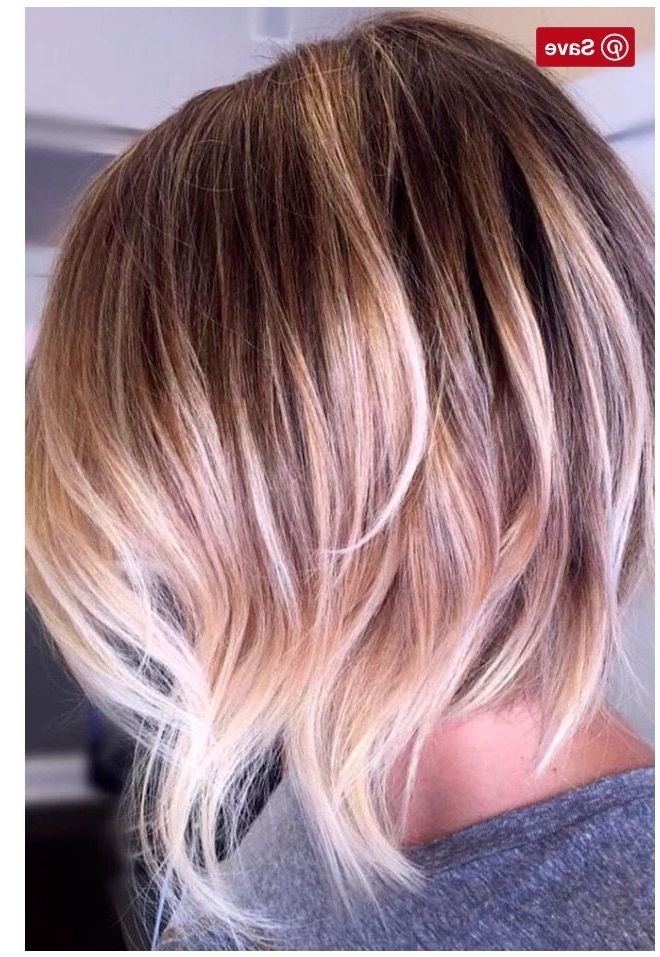 Pinkimmie Macclamrock On Hair Styles | Pinterest | Hair Style In Bronde Bob With Highlighted Bangs (View 3 of 25)