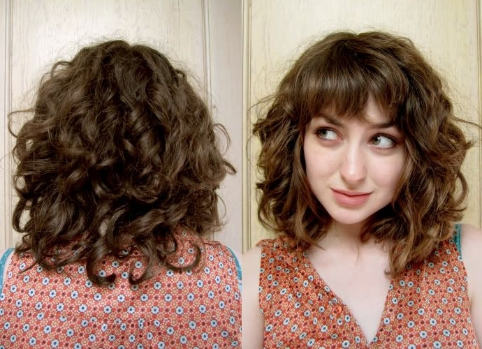 Pinnina F On Hair | Pinterest | Straight Hair, Curly And Hair Style With Regard To Accessorize Curled Look Ponytail Hairstyles With Bangs (View 10 of 25)