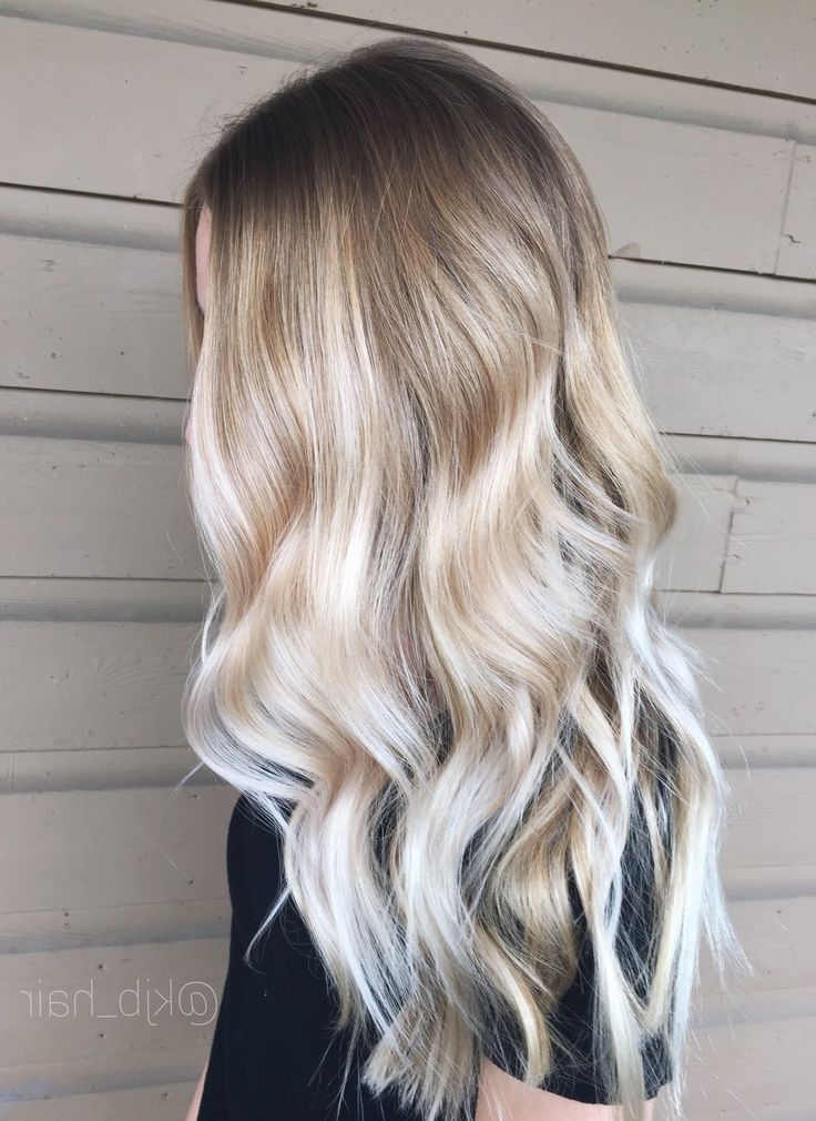Pinricardes Hairstyles On Long Hair | Pinterest | Blonde Pertaining To Tortoiseshell Curls Blonde Hairstyles (View 5 of 25)