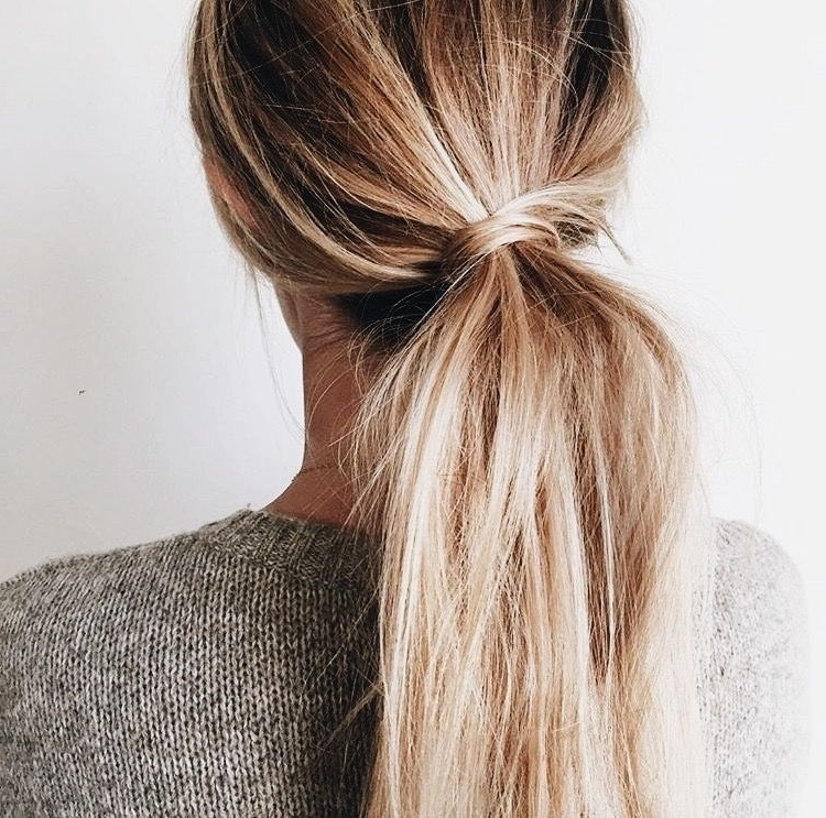 Pinsamantha Hammack On ???? | Pinterest | Blonde Ponytail With Full And Fluffy Blonde Ponytail Hairstyles (View 21 of 25)