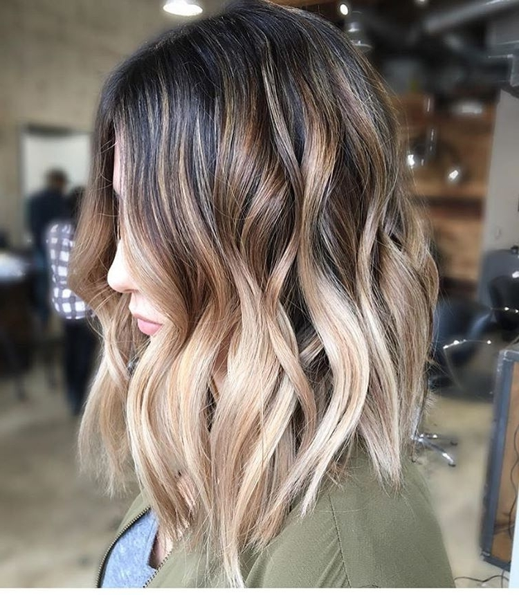 Pinsheila Greetham On Hairs | Pinterest | Lob, Instagram And Regarding Tousled Beach Babe Lob Blonde Hairstyles (View 12 of 25)