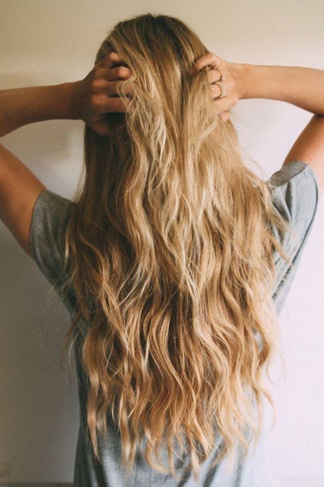 Pinyasuko Yoder On Modern Wavy Hairstyles | Pinterest | Hair Inside Amber Waves Blonde Hairstyles (View 12 of 25)