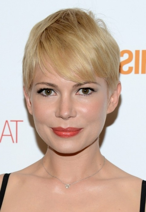 Pixie Cut – Gallery Of Most Popular Short Pixie Haircut For Women Regarding Most Current Side Parted Blonde Balayage Pixie Hairstyles (View 13 of 25)