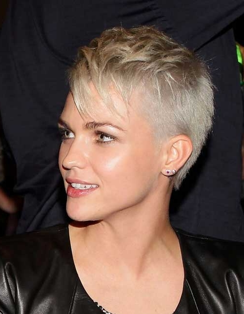 Pixie Cut Hairstyles For Modern And Cool New Look! – Inspiring Mode Pertaining To Best And Newest Contemporary Pixie Hairstyles (View 13 of 25)