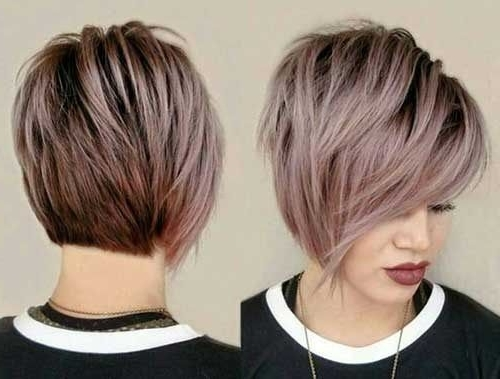 Pixie Cuts Are So Able Nowadays And Continued Brownie Cuts And In Paper White Pixie Cut Blonde Hairstyles (View 14 of 25)