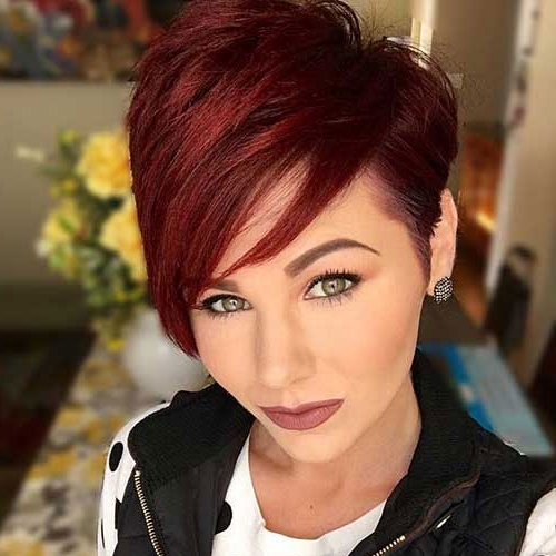 Pixie Cuts – Edgy, Shaggy, Spiky Pixie Cuts You Will Love   Love Ambie Inside Latest Reddish Brown Layered Pixie Bob Hairstyles (View 15 of 25)