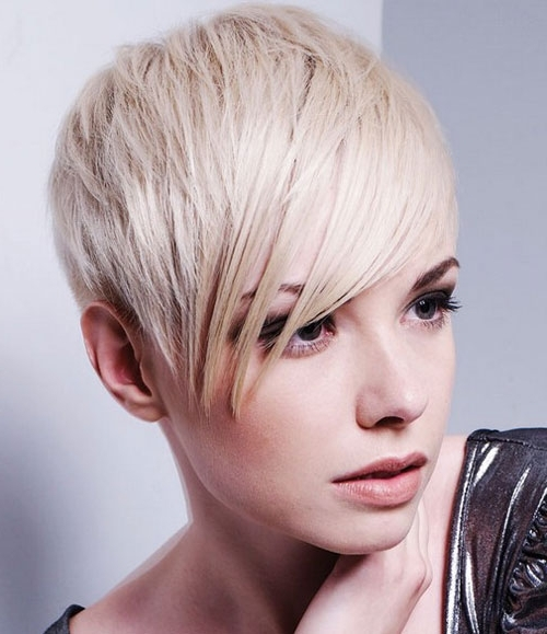 Pixie Cuts – Edgy, Shaggy, Spiky Pixie Cuts You Will Love | Love Ambie With Regard To Latest Side Parted Blonde Balayage Pixie Hairstyles (View 15 of 25)