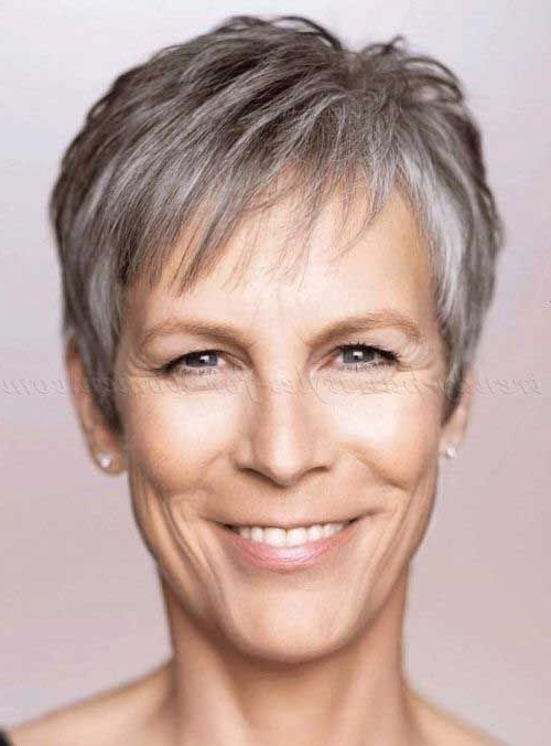 Pixie Haircut For Gray Hair | Grey Hair | Pinterest | Pixie Haircut Throughout Most Popular Imperfect Pixie Hairstyles (View 23 of 25)
