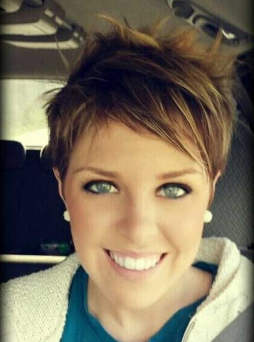 Pixie Haircuts For Fine Hair It Is Possible To Try | Cute Haircut Pertaining To 2018 Soft Pixie Bob Haircuts For Fine Hair (View 8 of 25)