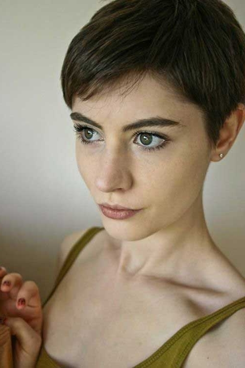 Pixie Haircuts For Fine Hair | Short Hairstyles 2017 – 2018 | Most Throughout Most Up To Date Soft Pixie Bob Haircuts For Fine Hair (View 10 of 25)