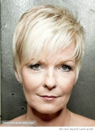 Pixie Haircuts For Women Over 50 | Modern Pixie Haircut For Older Inside Most Recent Contemporary Pixie Hairstyles (View 3 of 25)