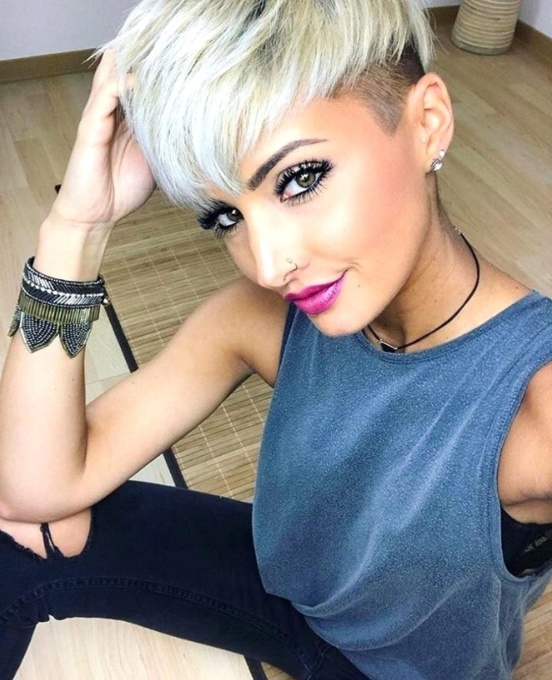 Pixie Hairstyles For Women Beautiful Stylish Undercut Pixie For Newest Sassy Undercut Pixie Hairstyles With Bangs (View 15 of 25)