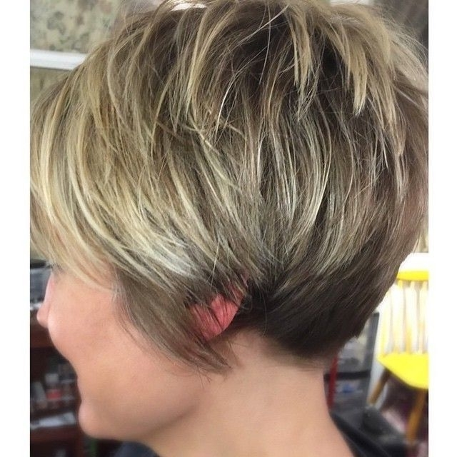 Featured Photo of Pixie Wedge Hairstyles
