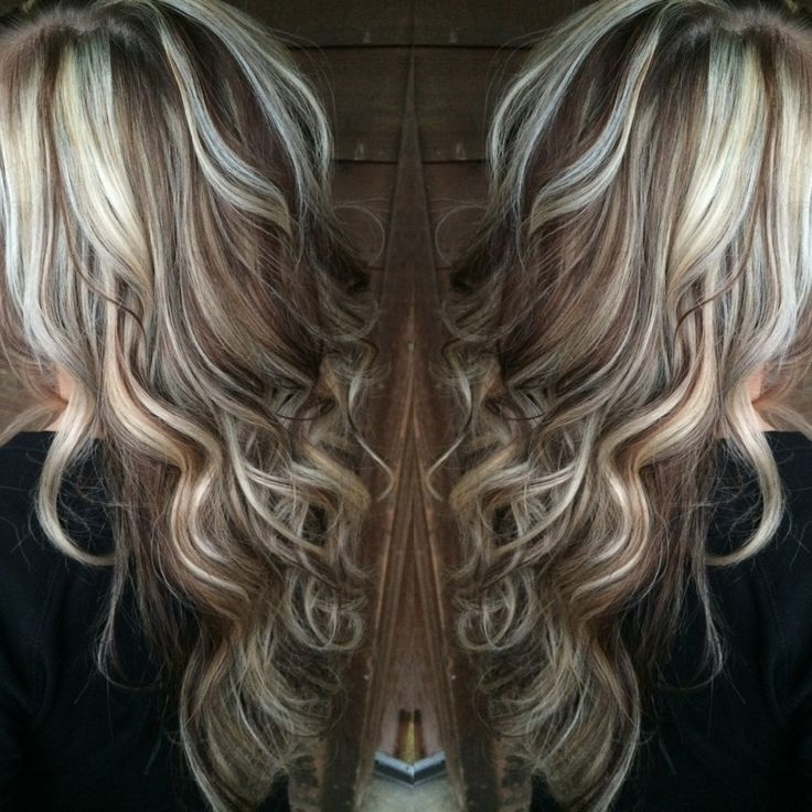 Platinum Blonde Hair With Brown Highlights – Best Image Of Blonde Within Blonde Hairstyles With Platinum Babylights (View 23 of 25)
