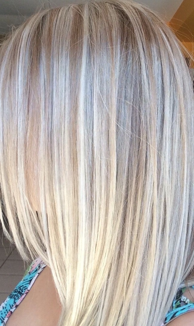 Platinum Blonde! Highlights And Lowlights   ~Hair And Beauty~ In Inside Platinum Highlights Blonde Hairstyles (View 4 of 25)