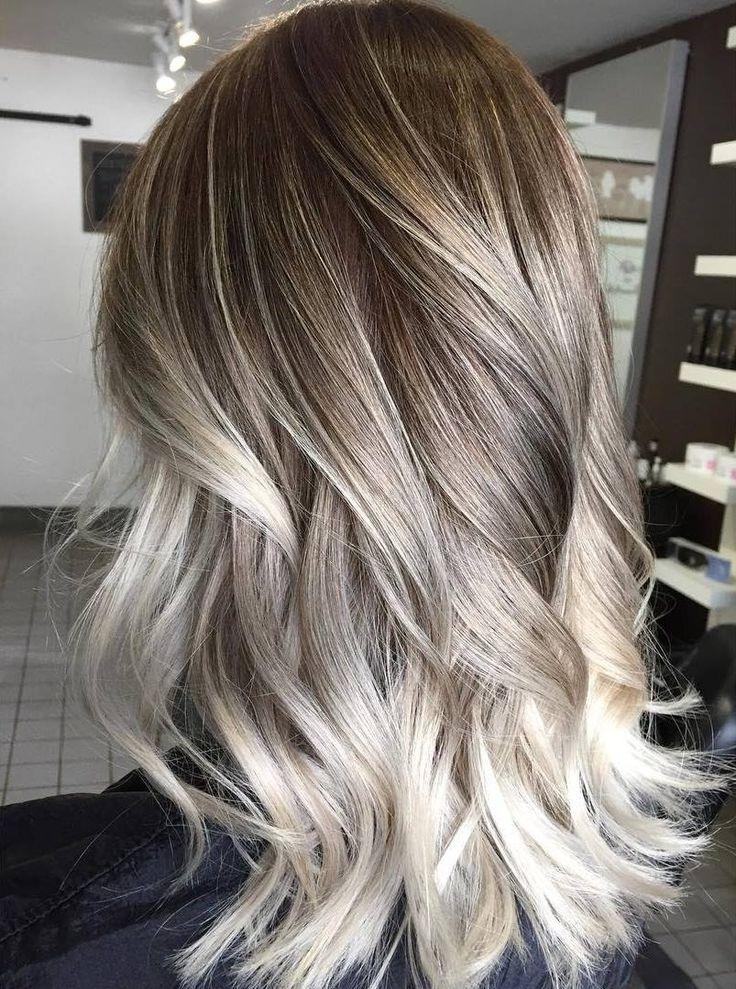 Platinum Blonde Highlights On Dark Blonde Hair 60 Balayage Hair In Blonde Hairstyles With Platinum Babylights (View 2 of 25)