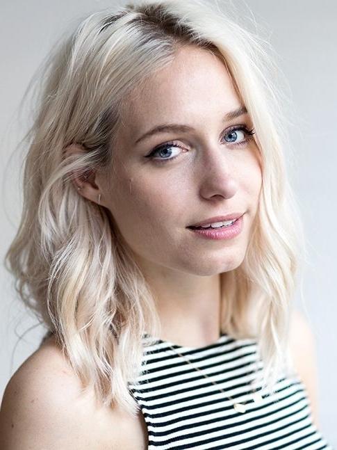 Platinum Blonde Waves (View 18 of 25)