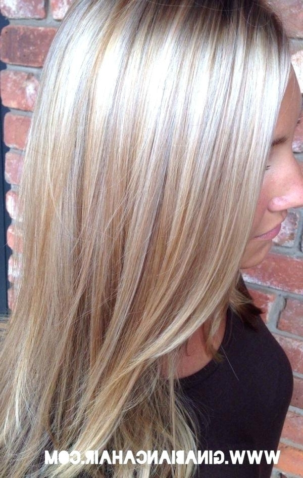 Platinum Highlights On Blonde Hair Platinum Blonde Hair With With Light Golden Blonde With Platinum Highlights (View 25 of 25)