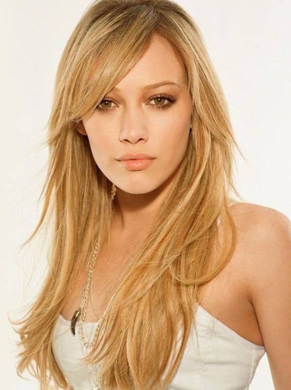 Podobny Obraz | Warm Spring Makeup & Hair | Pinterest | Blondes In Side Swept Warm Blonde Hairstyles (View 2 of 25)