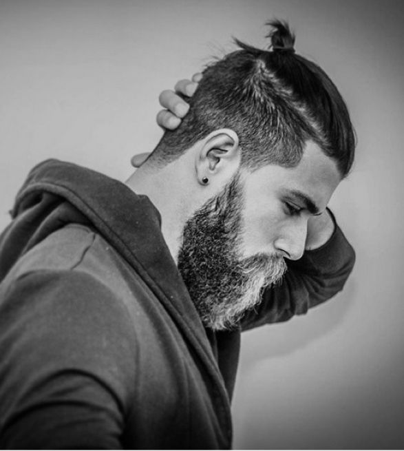 Pompadour Men Long | Mens Ponytail Hairstyles 2014 | Beards N Hair With Pompadour Pony Hairstyles (View 18 of 25)