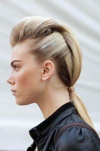 Pompadour Ponytail Hairstyle | Hair | Pinterest | Pompadour With Pompadour Pony Hairstyles (View 7 of 25)