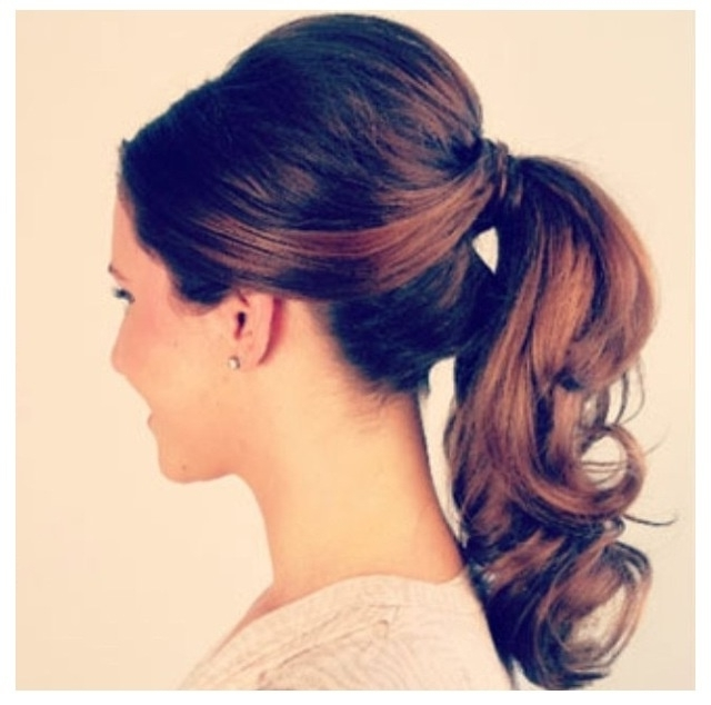 Pony Tail | Beauty Jobs In Canada | Beauty Nine To Five Throughout Retro Glam Ponytail Hairstyles (View 23 of 25)