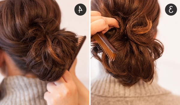Pony Up: How To Make Short Hair Look Full In A Ponytail | More Throughout Stylish Low Pony Hairstyles With Bump (View 15 of 25)