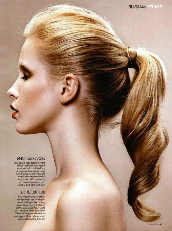 Ponytail | Biology Is Fun For Fancy Sleek And Polished Pony Hairstyles (View 23 of 25)