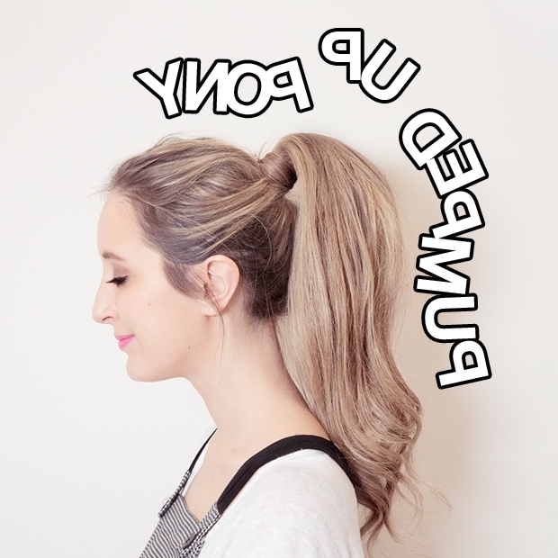 Ponytail Hair Extensions | Hair Extensions Blog | Hair Tutorials With Regard To High Top Ponytail Hairstyles With Wavy Extensions (View 20 of 25)