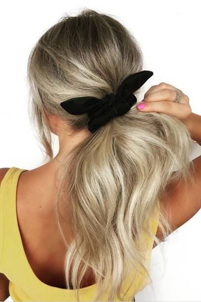 Ponytail Hairstyles 2018: Hair Up Ideas | Glamour Uk Regarding High Black Pony Hairstyles For Relaxed Hair (View 12 of 25)