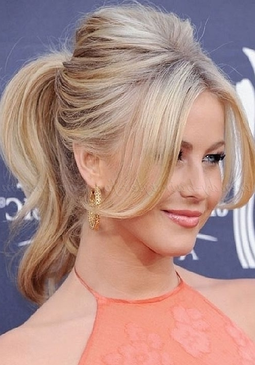 Ponytail Hairstyles – Bouffant Ponytail | Trendy Hairstyles For With Long Braided Ponytail Hairstyles With Bouffant (View 9 of 25)
