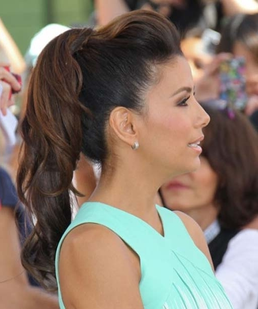 Ponytail Hairstyles Easy To Wear Regarding Ponytail Hairstyles With Bump (View 6 of 25)