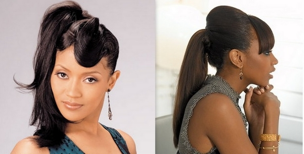 Ponytail Hairstyles For Black Women – Stylish Eve Intended For Afro Style Ponytail Hairstyles (View 24 of 25)