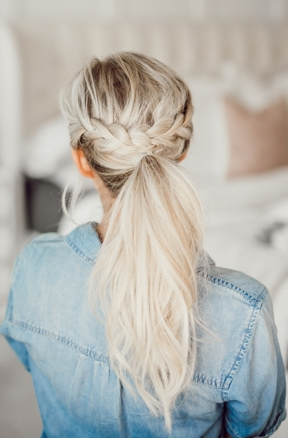 Ponytail Hairstyles For Spring And Summer!! Within Low Twisted Flip In Ponytail Hairstyles (View 16 of 25)