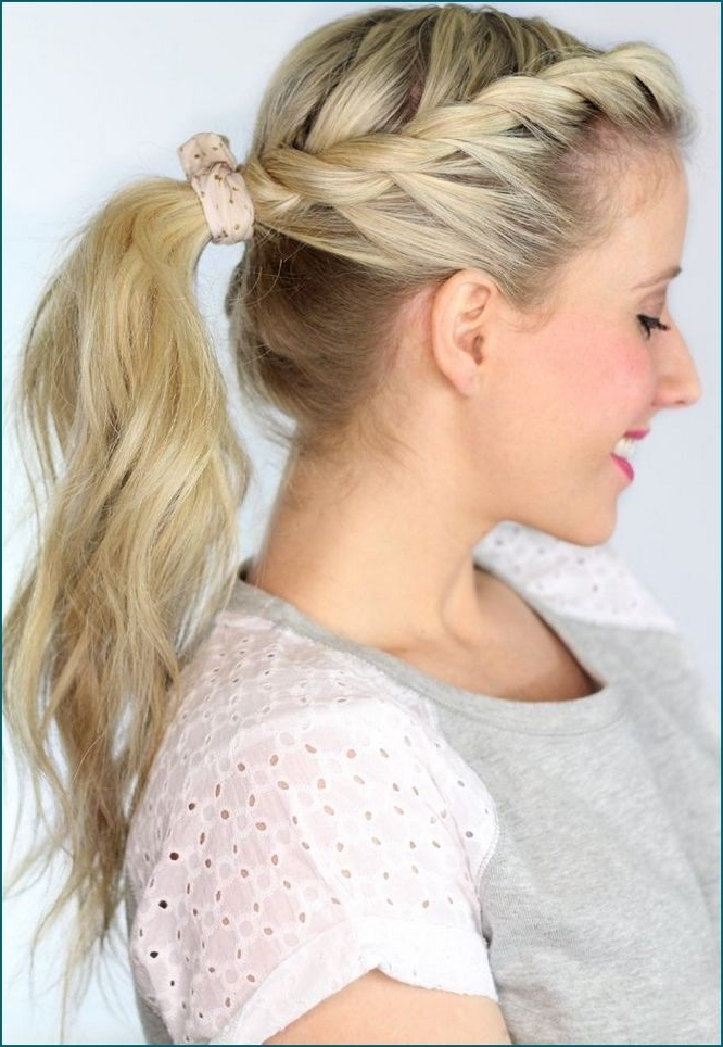 Ponytail Hairstyles For Weddings – Kitharingtonweb With Classic Bridesmaid Ponytail Hairstyles (View 15 of 25)