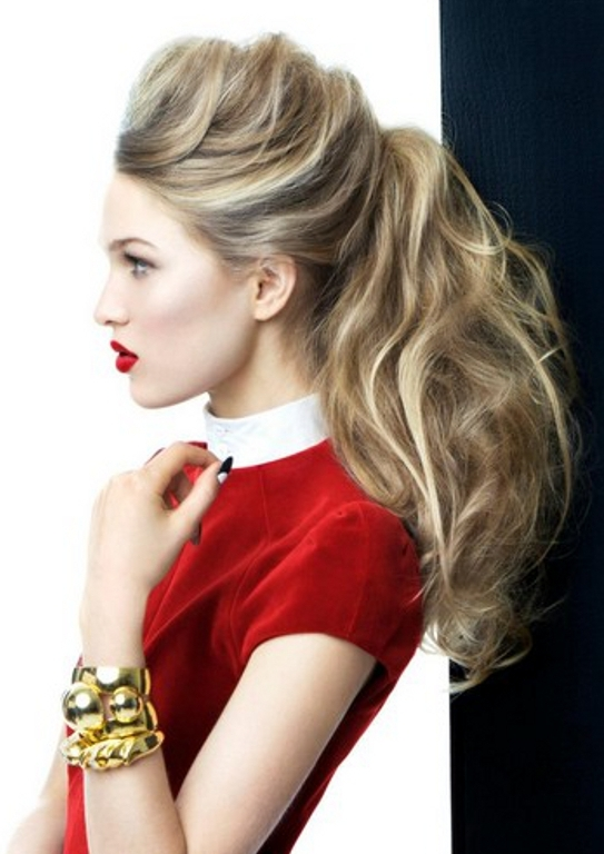 Ponytail Hairstyles   Haircuts, Hairstyles 2019 And Hair Colors For In Crimped Pony Look Ponytail Hairstyles (View 23 of 25)