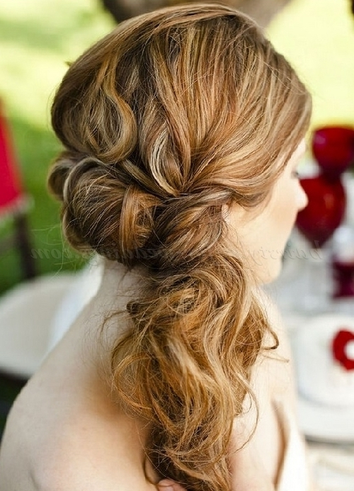 Ponytail Hairstyles – Twisted Side Ponytail | Hairstyles For In Braided Headband And Twisted Side Pony Hairstyles (View 22 of 25)