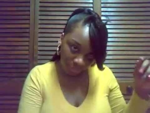 Ponytail With Side Bangs – Youtube With Sassy Side Ponytail Hairstyles (View 18 of 25)