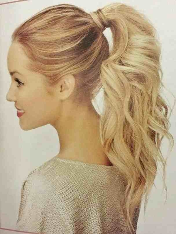 Ponytails Hairstyles Punk | Fashionables (View 17 of 25)