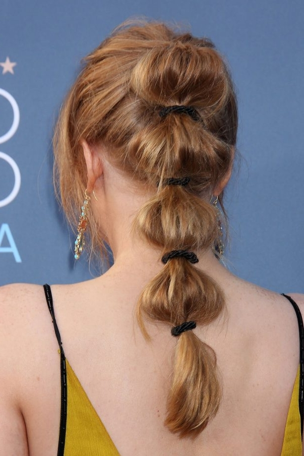 Ponytails: The Best Celebrity Looks From The Red Carpet For Stylish Supersized Ponytail Hairstyles (View 17 of 25)