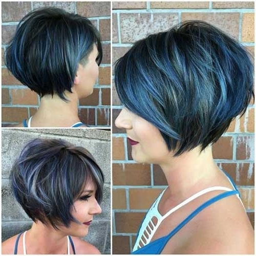 Popular Short Stacked Haircuts You Will Love | Short Hairstyles 2017 Within 2018 Stacked Pixie Bob Hairstyles With Long Bangs (View 8 of 25)