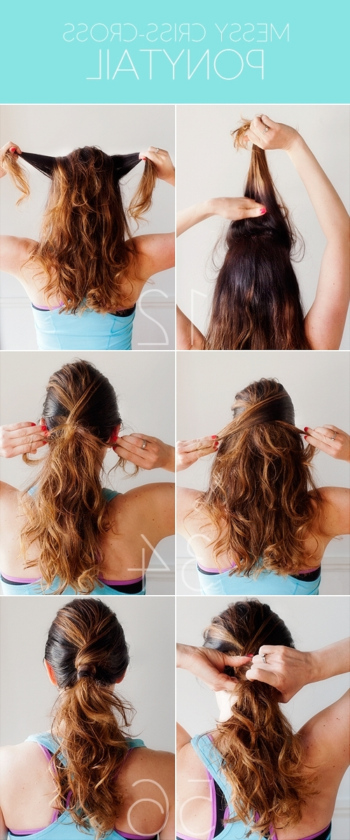 Pretty Plain Janes | Page 63 Inside The Criss Cross Ponytail Hairstyles (View 23 of 25)