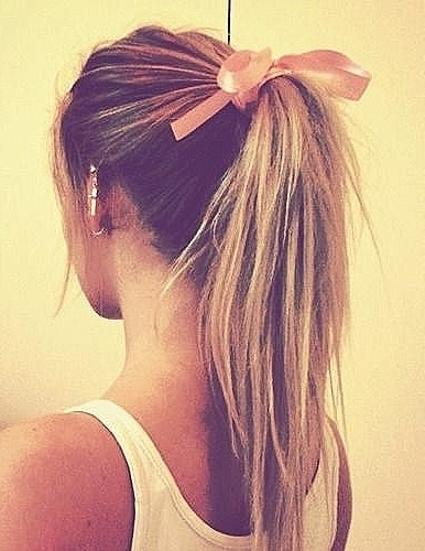 Pretty Ponytail Hairstyles For Young Women – Pretty Designs In High Bubble Ponytail Hairstyles (View 23 of 25)