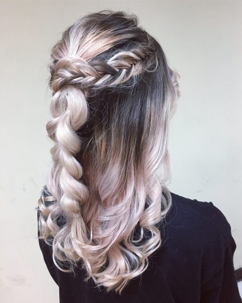 Princess Hairstyles: The 25 Most Charming Ideas For 2018 Pertaining To Princess Tie Ponytail Hairstyles (View 24 of 25)