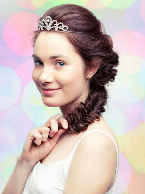 Princess Hairstyles: The 25 Most Charming Ideas For 2018 Regarding Princess Tie Ponytail Hairstyles (View 15 of 25)
