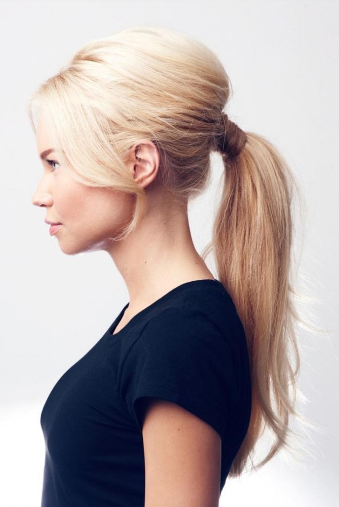 Princess Ponytail Hairstyle – Kitharingtonweb Inside Princess Tie Ponytail Hairstyles (View 4 of 25)